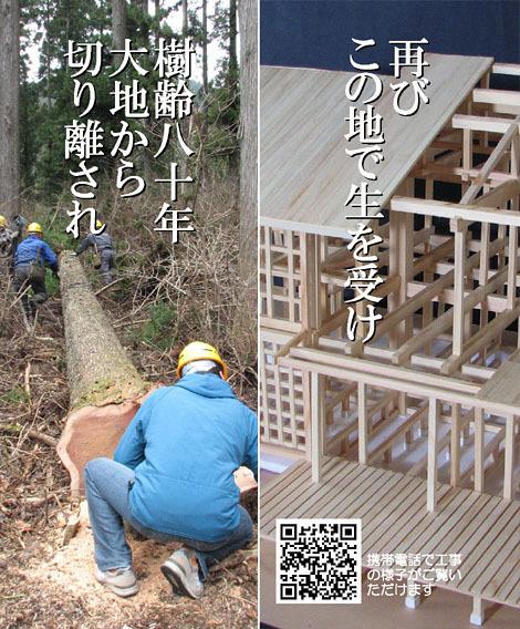 「上尾の木の家」構造架構見学会